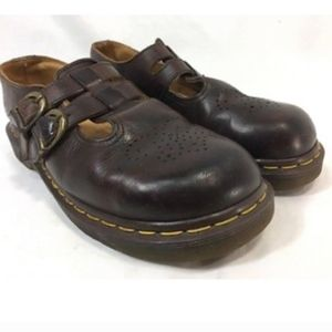 DR. MARTENS 8065 MARY JANE Shoes Leather